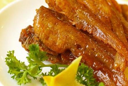 油炸烤子鱼